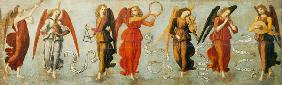 Angels playing musical instruments c.1475-97