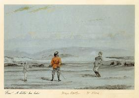 'Fore! A Little Too Late' c.1870