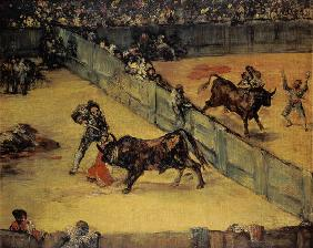 Scene at a Bullfight: The Divided Ring