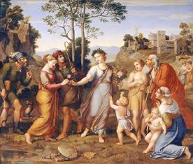 Mädchen aus der Fremde - Schiller, Friedrich - Gedicht