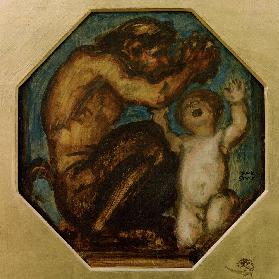 Faun and Boy Bacchus c. 1900