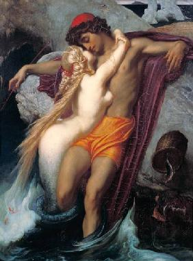 The Fisherman and the Syren: From a Ballad by Goethe c.1856-8