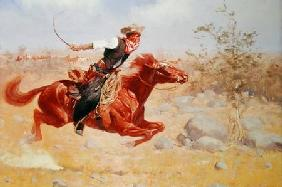 Galloping Horseman c.1890