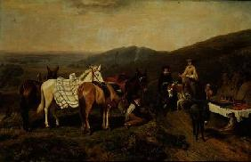 In the Malvern Hills 1858