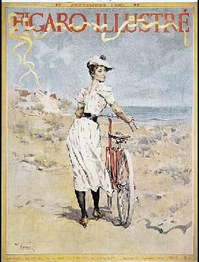 Poster advertising the 'Figaro Illustre' 1893