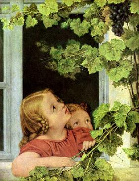 Kinder am Fenster 1815