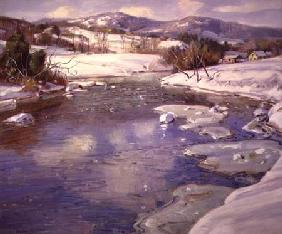 Valley Stream in Winter