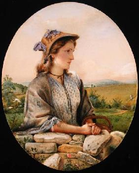 A Country Girl 1865  on
