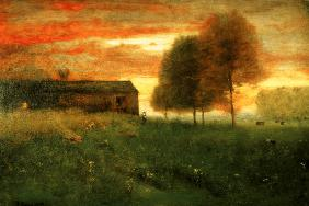 Sunset, Montclair 1892