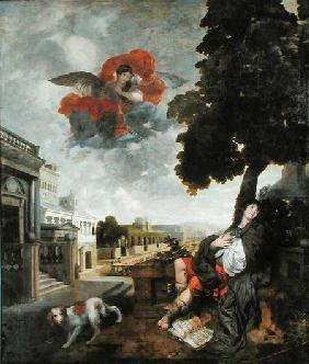 The Conversion of St. Augustine c.1663