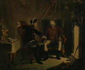 Frederick II and General von Ziethen
