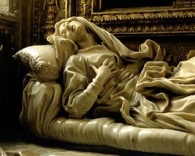 Death of the Blessed Ludovica Albertoni, from the Altieri Chapel 1674