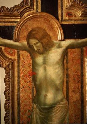 Crucifix, detail of Christ 1317