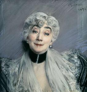 Portrait of the Countess de Martel de Janville, known as Gyp (1850-1932) 1894