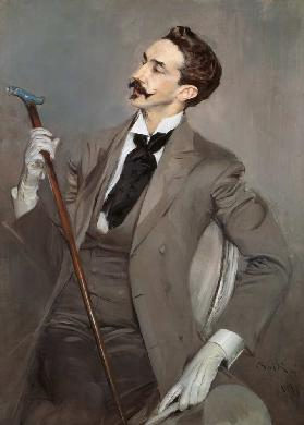 Count Robert de Montesquiou (1855-1921) 1897