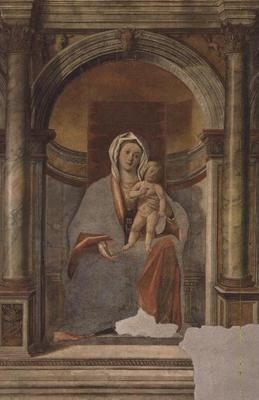 Madonna and Child (fresco) 1601