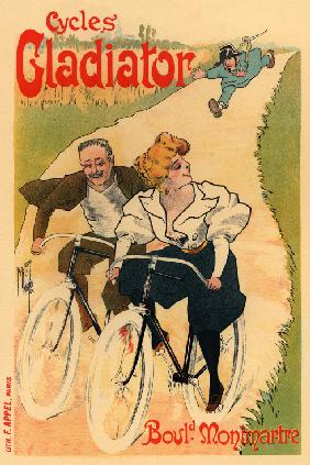 Gladiator Cycles (Plakat) 1895
