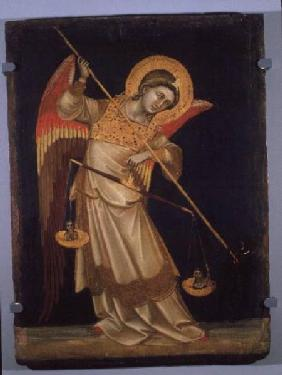 An Angel Weighing a Soul c.1348-55