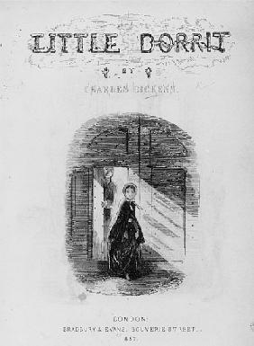 Frontispiece to ''Little Dorrit'' Charles Dickens