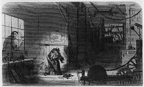 Visitors at the Works, illustration from ''Little Dorrit'' Charles Dickens