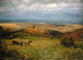 View of Kronberg in Taunus, Germany 1879