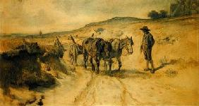 On the Moorland c.1855 (ch