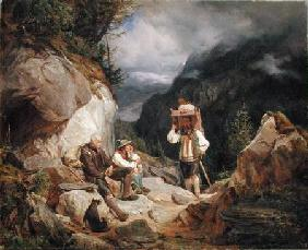 Rest on the Mountain 1848