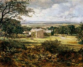 English landscape with a house 19. Jh