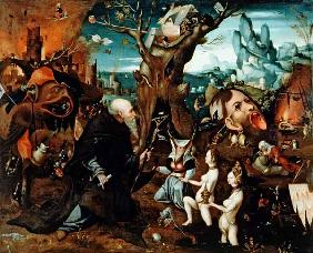 Temptation of St.Anthony / Ptg./ C16th