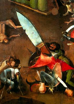 The Last Judgement (Altarpiece): Detail of the Dagger