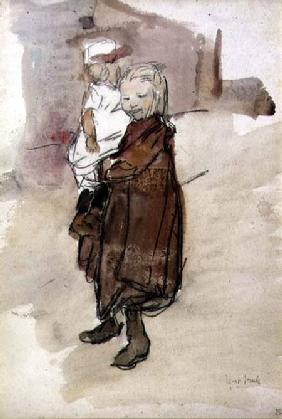 Girl and Child