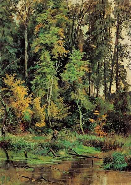 Shishkin / Autumn / Painting
