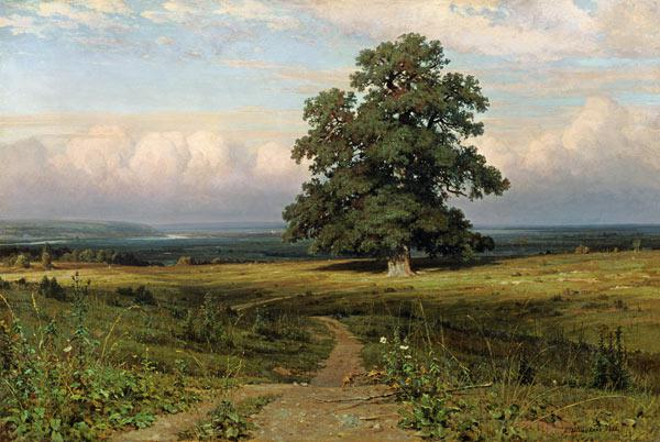 On barren heathland 1883