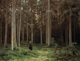 Shishkin / Countess Mordvinova s Forest 1891