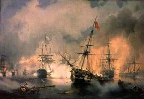 The Battle of Navarino, 20th October 1827 1846