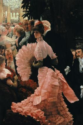 The Reception or, L'Ambitieuse (Political Woman) c.1883-85