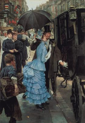 The Bridesmaid, c.1883-85 (oil on canvas) 16th