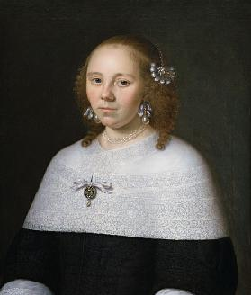 Portrait of a Young Woman from Hoorn 1658