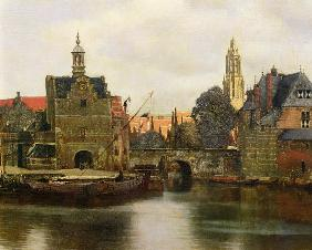 View of Delft c.1660-61  (detail of 113452)