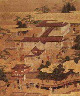 The Life and Pastimes of the the Japanese Court, Tosa School Edo Period