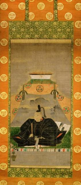 Portrait of Tokugawa Ieyasu (1543-1616), Japanese 17th centu
