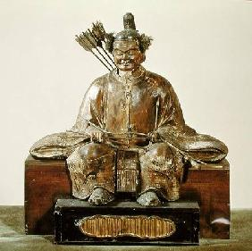 The Sadaijin in ceremonial costume, Muromachi Period