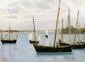 Granville, Fishing Boats c.1860