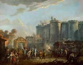 The Arrest of the Governor of the Bastille, 14th July 1789 1790-95