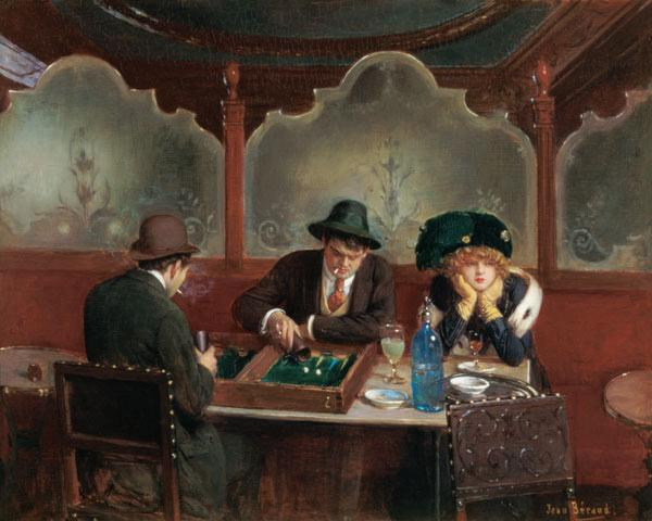 The Backgammon Players 1843