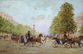The Promenade on the Champs-Elysees