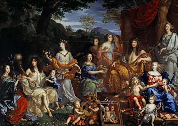 The Family of Louis XIV (1638-1715) 1670  (for details see 39054-39055)