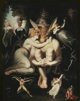 Titania Awakes, Surrounded by Attendant Fairies 1793-4