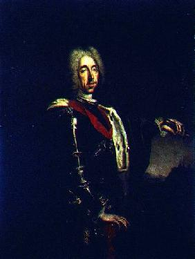 Portrait of Prince Eugene of Savoy 1730s