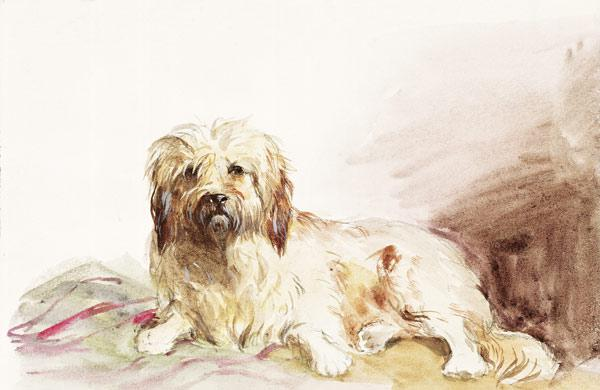 The Artist's Dog c.1860  on